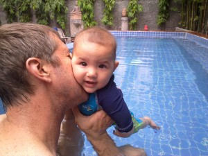 Swim lessons for baby