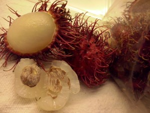 Tropical fruit: Rambutan