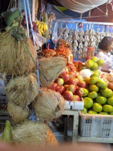 Tropical fruit: A special coconut variety