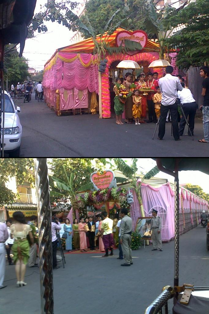 Collage wedding