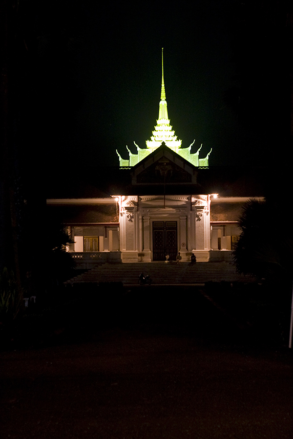 Royal Palace Museum at night