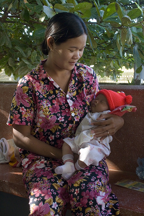 Patient at Kampong Thom Health Center in Kampong Thom Operational District