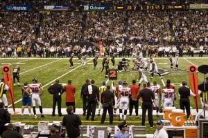 New Orleans Saints vs. Atlanta Falcons November 2nd 2009
